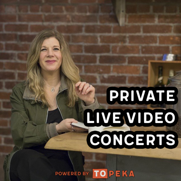PRIVATE online concerts serenades and NEWLY added private songwriting sessions